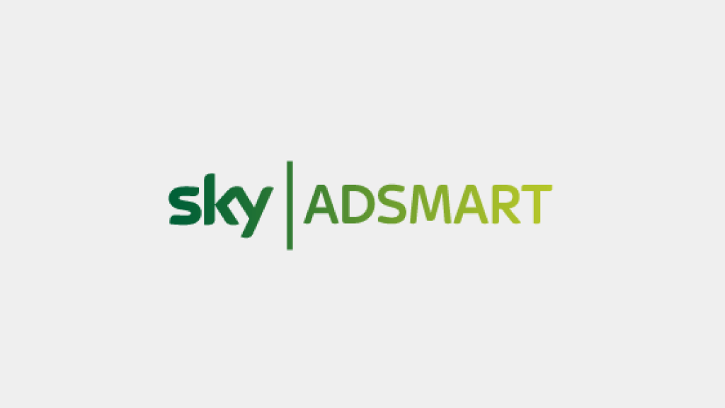 Sky AdSmart logo for video experience case study